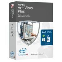 McAfee Antivirus Plus 2016 Subscription Licence 1 Year - Electronic Software Download