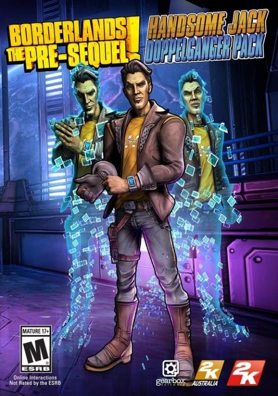 Image of Borderlands: The Pre-sequel - Handsome Jack Doppelganger Pack - Age Rating:18 (pc Game)
