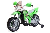 Xenta Green Electric Ride On Motor Bike