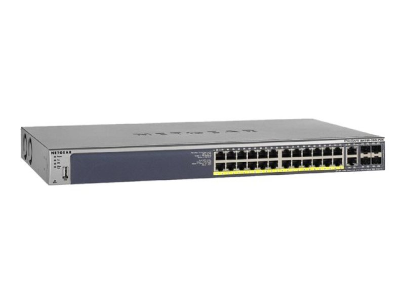 Netgear ProSafe M4100-26G-POE Managed Switch (GSM7226LP)