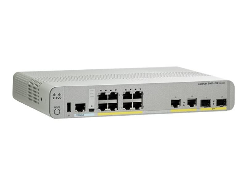 Cisco Catalyst 2960CX-8TC-L Managed Switch