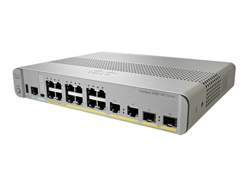 Cisco Catalyst 3560CX-12PC-S Managed Switch