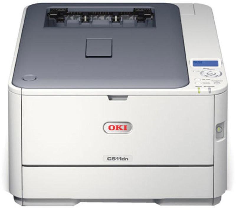 Image of OKI C321dn A4 Duplex Network Colour Laser Printer