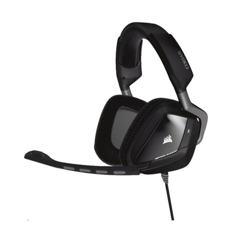 Corsair Gaming VOID USB RGB Dolby 7.1 Comfortable Gaming Headset- Carbon