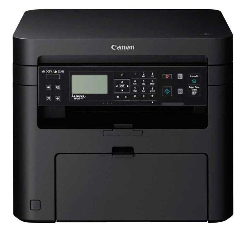 Image of Canon i-SENSYS MF211 Mono Multifunction Laser Printer