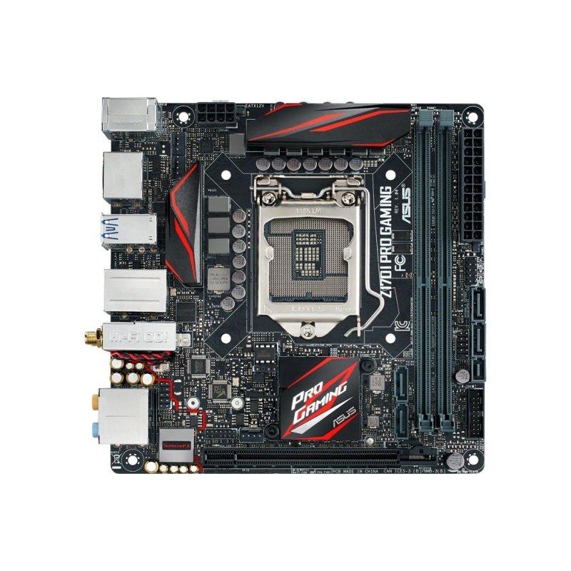 Asus Z170I PRO GAMING Socket 1151 HDMi DisplayPort 8-Channel HD Audio Mini ITX Motherboard