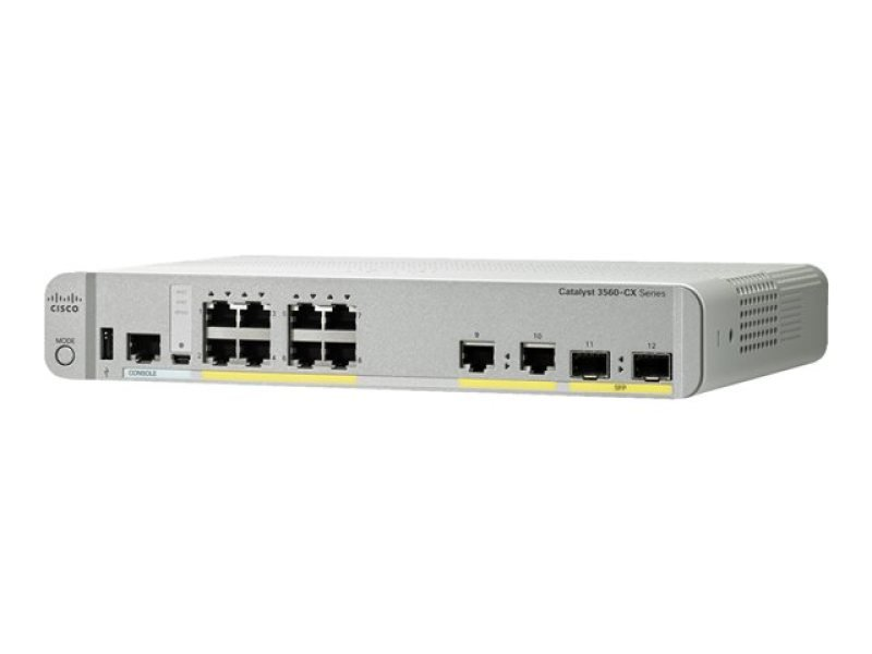 Cisco Catalyst 3560CX-8PC-S Managed Switch