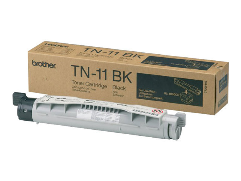 Brother TN11BK Black Toner Cartridge 8500 Pages