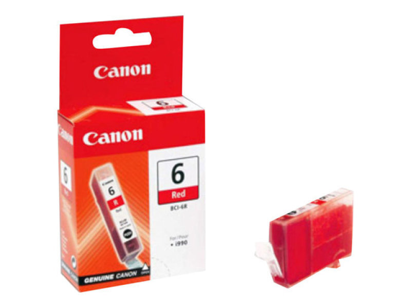Canon BCI 6R Red Ink Cartridge