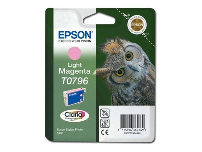 Epson T0873 - Print cartridge - 1 x magenta