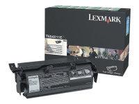 Lexmark Xhy Ret Prog Tnr Blk 0t654x11e
