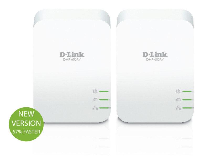 D-Link AV2 1000 HD Gigabit Twin Powerline Kit
