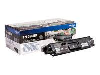 Brother TN-326BK Black Toner Cartridge - 4,000 Pages
