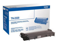 Brother TN-2320 High Yield Black Toner Cartridge - 2,600 Pages
