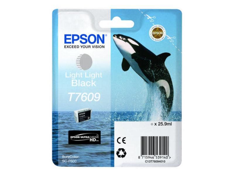 Epson T7609 Light Light Black Ink Cartridge