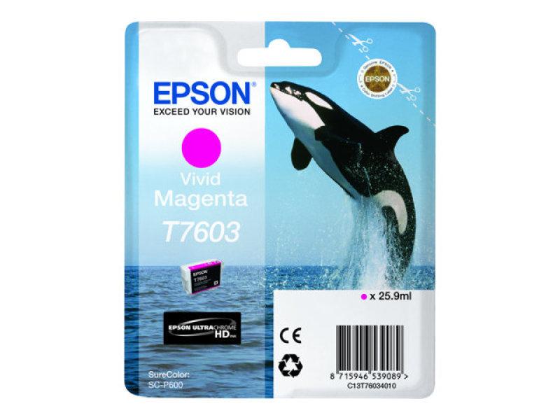 Epson T7603 Vivid Magenta Ink Cartridge