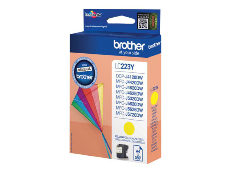 *Brother LC223Y Yellow Ink Cartridge