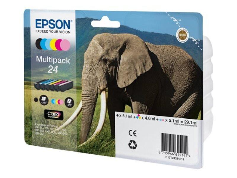 Ink Cart/Claria PhotoHD 24 Elephant MP