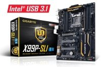 Gigabyte GA-X99P-SLI Socket LGA2011-3 7.1-channel HD Audio ATX Motherboard