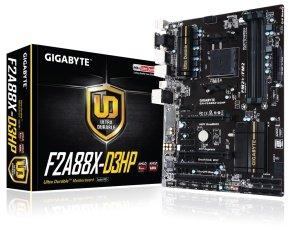 Gigabyte GA-F2A88X-D3HP Socket FM2+ VGA DVI-D HDMI ATX Motherboard