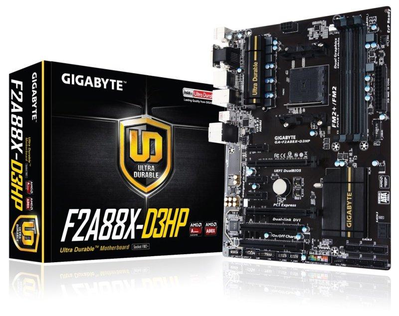 Gigabyte GAF2A88XD3HP Socket FM2 VGA DVID HDMI ATX Motherboard