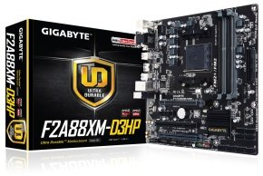 Gigabyte GA-F2A88XM-D3HP Socket FM2+ VGA DVI-D HDMI Micro ATX Motherboard