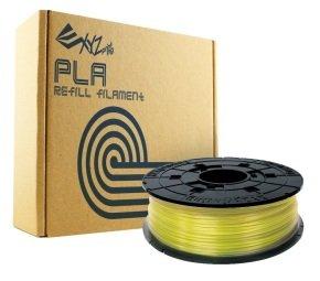 XYZPrinting PLA Refill Filament 1.75mm - Clear Yellow