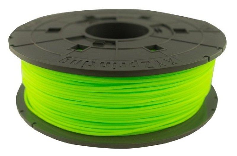 XYZ Da Vinci Junior 1.75mm PLA Filament - Neon Green