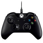 MS Xbox One Wired PC Controller - Black
