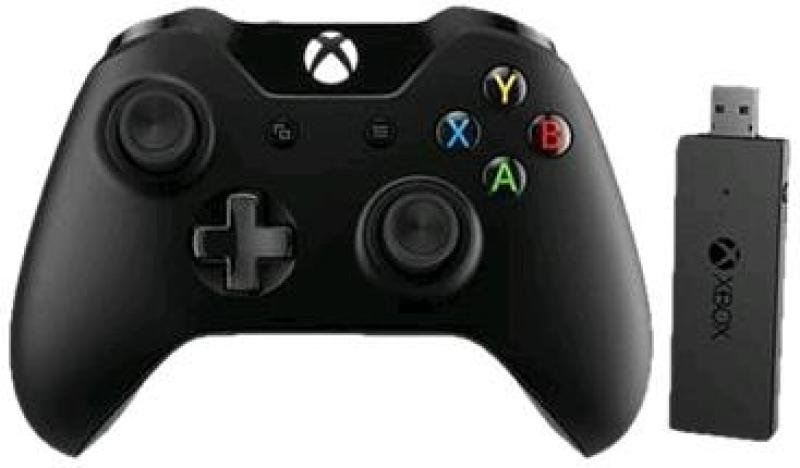 Image of Microsoft Xbox One Controller + Wireless Adapter