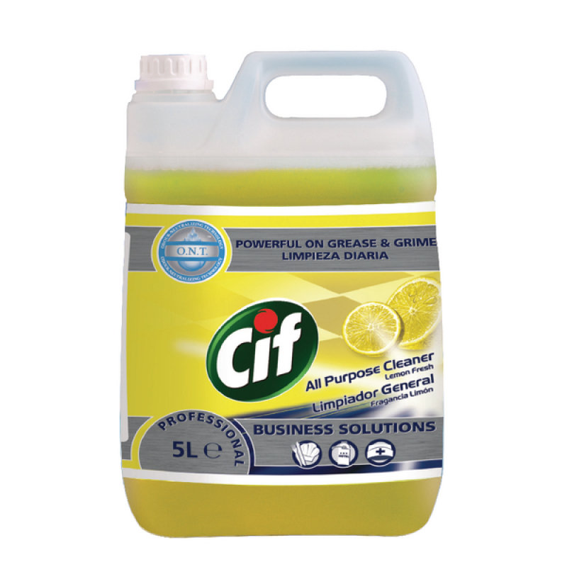Image of Cif Professional All Purpose Cleaner Lemon