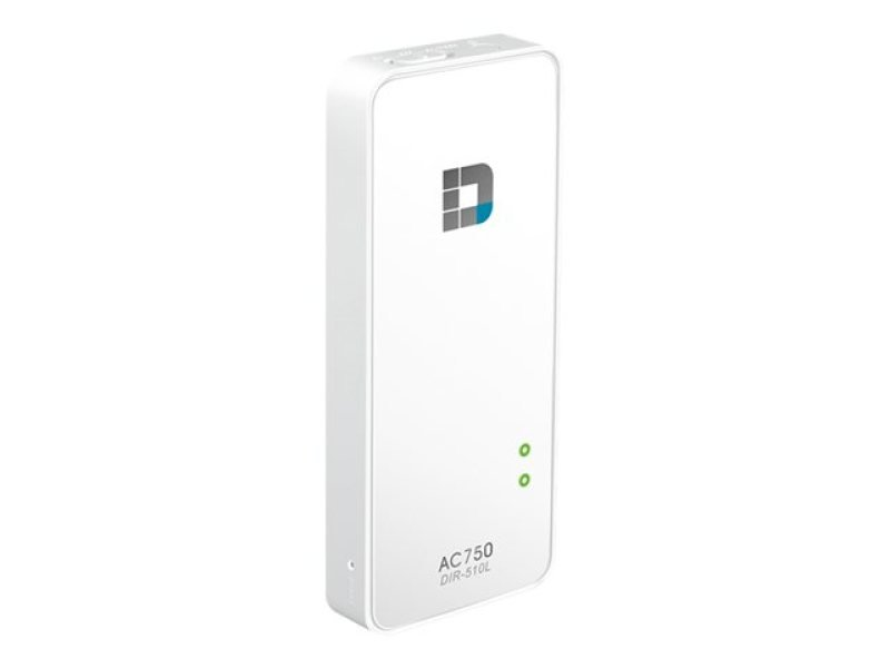 D Link Wi-Fi AC750 Portable Router and Charger