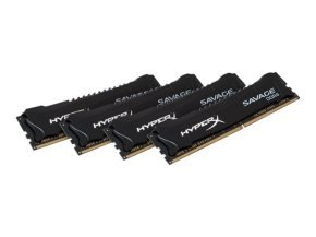 HyperX Savage 16GB Kit (4x4GB) DDR4 2666MHz Intel XMP CL13 DIMM Memory