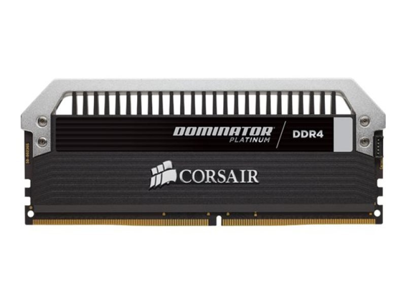 Corsair Dominator Platinum Series 8GB (2 x 4GB) DDR4 DRAM 2666MHz C15 Memory Kit