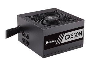 Corsair CX550M Semi-Modular ATX Power Supply