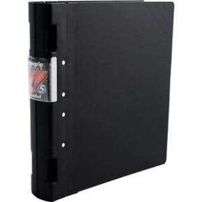 Guildhall GLX Ergo Grip Ring Binder - Black