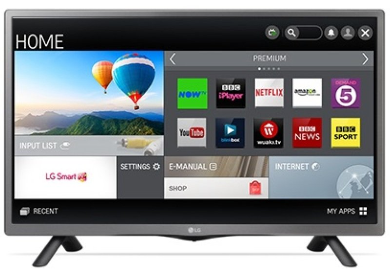 Lg 28 Inch Led Netcast Smart Hd Tv  Wifi  2.0ch 10w