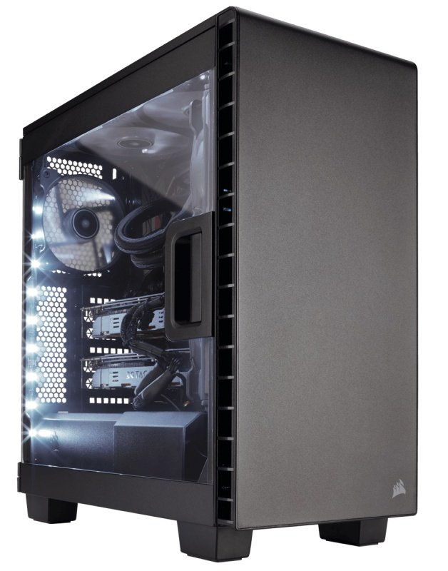 Corsair Carbide Series Clear 400C Compact Mid-Tower Case