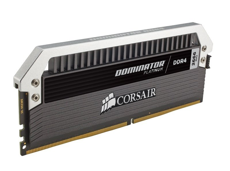 Corsair Dominator Platinum Series 16GB (2 x 8GB) DDR4 DRAM 2666MHz C15 Memory Kit