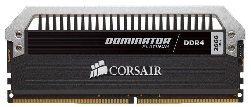 Corsair Dominator Platinum Series 16GB (2 x 8GB) DDR4 DRAM 2666MHz C15 Memory Kit