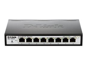 D-Link EasySmart Switch DGS-1100-08 Managed Switch
