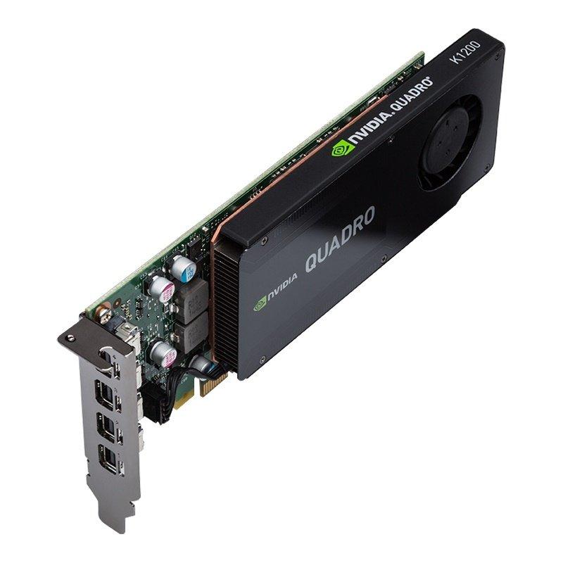 VCQK1200DP-PB - 4 GB GDDR5, 128-bit, 80 GB/s, 512 GPU PROCESSING CORES