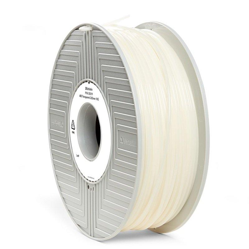 Verbatim ABS 2.85mm 1kg Filament - Transparent