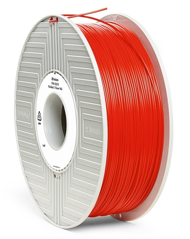 Verbatim PLA 1.75mm 1kg Filament - Red
