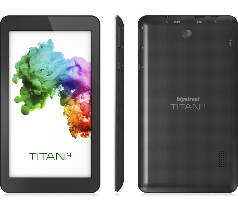 "Image of Hipstreet 7DTB37 Titan 4 8GB 7"" Tablet - Black"
