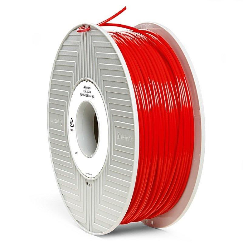 Verbatim PLA 3mm Filament 1kg - Red