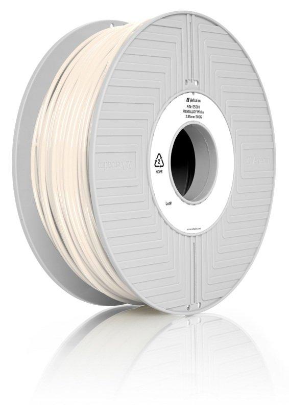 Verbatim Primalloy 2.85mm 500g Filament - White