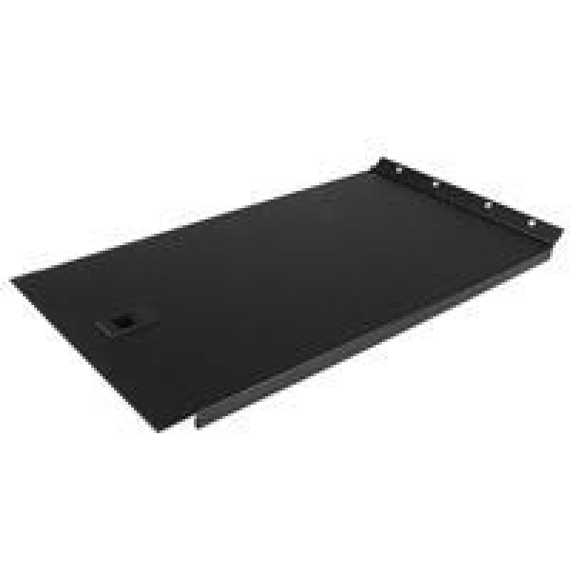 Solid Blank Panel with Hinge for Server Racks 6U