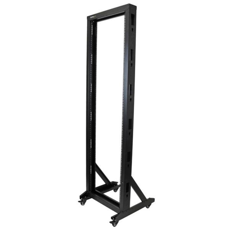 2-Post Server Rack with Casters 42U