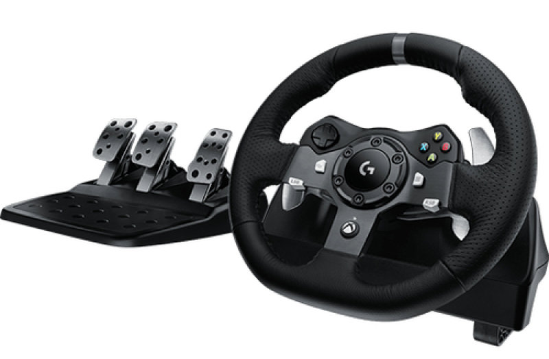 Logitech G920 Steering Wheel Starlight Xbox One & PC